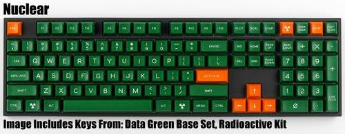 "SA ""Nuclear"" Keycap Set - Pimpmykeyboard.com"