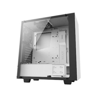 NZXT S340 Elite Matte White Steel/Tempered Glass ATX Mid Tower Case-Newegg.com