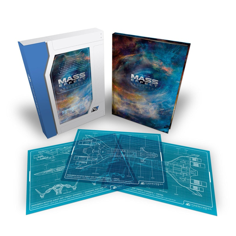 The Art of Mass Effect: Andromeda Limited Edition - Books -
