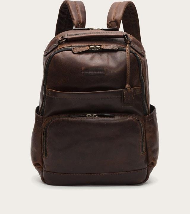 FRYE | Logan Backpack - Cognac