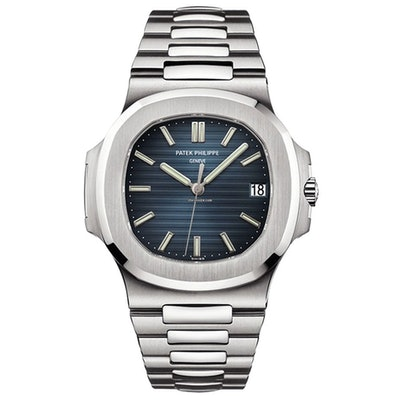 Patek Philippe Nautilus 5711/1A 40mm Stainless Steel Watch Blue Dial