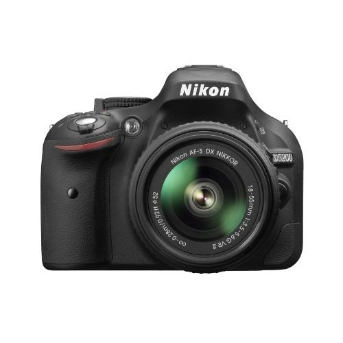 Nikon D5200 Digital SLR with 18-55mm VR II