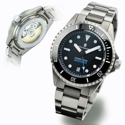 Ocean Titanium 500 Premium - Taucheruhren  - Steinhartwatches