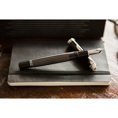 Pelikan M815 Fountain Pen - Metal Striped (Special Edition)