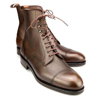 Mens Brown Jumper Chelsea Boots | CARMINA