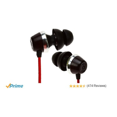 Symphonized ALN Premium Genuine Wood In-ear Headphones