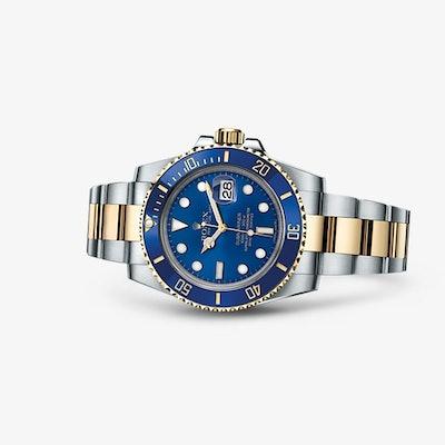 Rolex Submariner Date: Gele Rolesor - combinatie van 904L staal en 18 kt geelgou