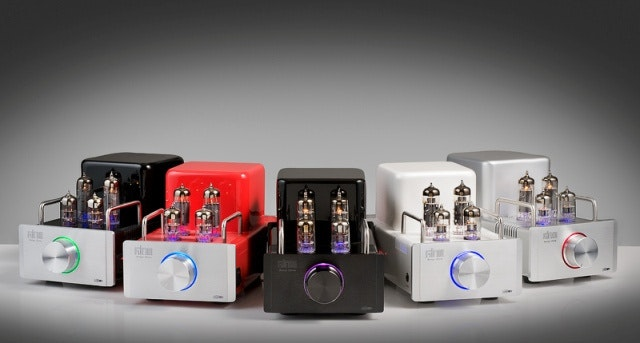 GLOW Audio Amp One single ended stereo amplifier