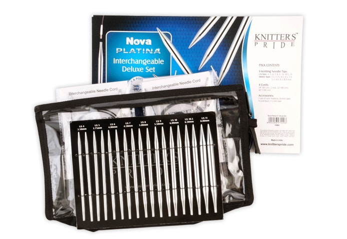 Nova Platina Interchangeable Needle Set