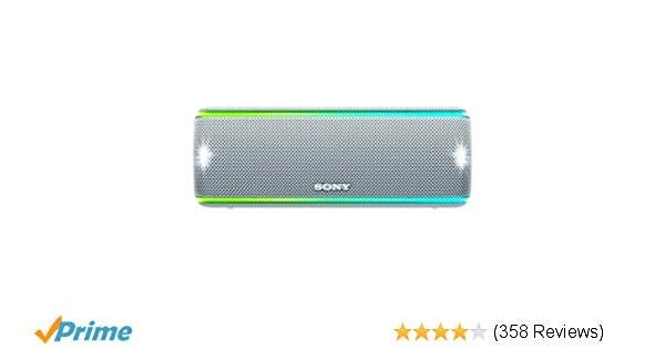 Amazon.com: Sony SRS-XB31 Portable Wireless Bluetooth Speaker, White (SRSXB31/W)