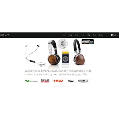 EVEN H2 l BT EarPrint Headphones | NYC