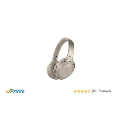 Amazon.com: Sony WH1000XM2 Premium Noise Cancelling Wireless Headphones – Gold (