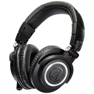 ATH-M50x Professional Monitor Headphones || Audio-Technica