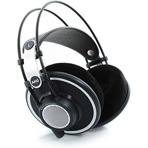 AKG K702 Open-Back Dynamic Reference Headphones - Black: Amazon.co.uk: Musical I