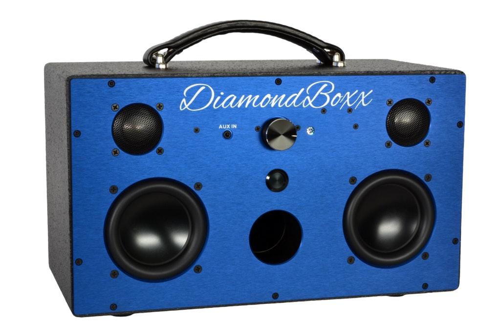 DiamondBoxx - Portable Bluetooth Boombox Speaker - Model M