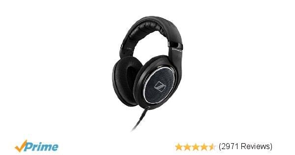 Sennheiser HD 598 Special Edition Over-Ear Headphones - Black: Home