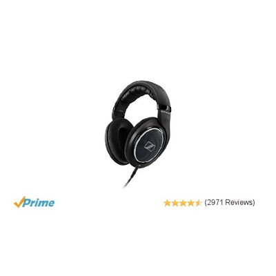 Sennheiser HD 598 Special Edition Over-Ear Headphones - Black: Home