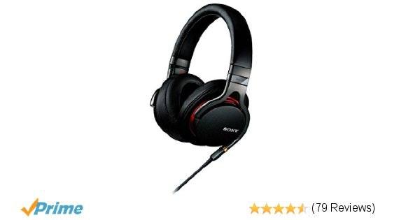 Sony MDR-1A Headphone - Black (International Version U.S. warranty m