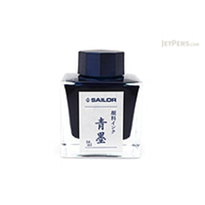 Sailor Nano Sei-boku Ink (Blue Black)