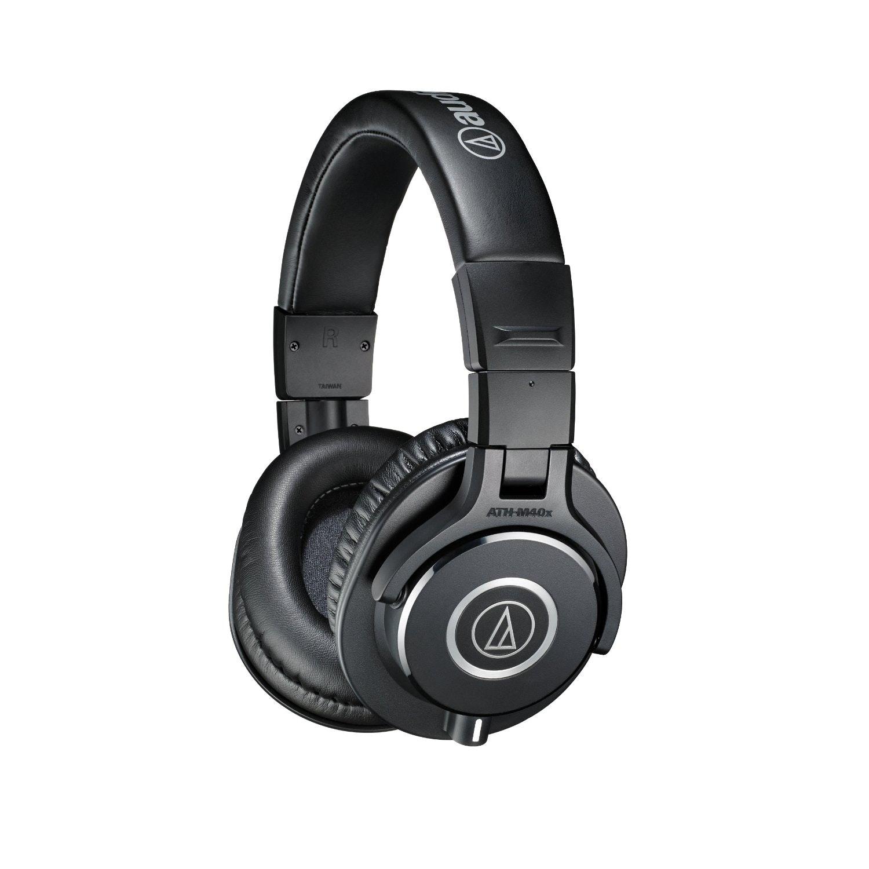 Amazon.com: Audio-Technica ATH-M40x Professional Studio Monitor Headphones: Musi