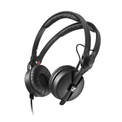 Sennheiser HD 25 - On Ear DJ Headphone - Noise Reduction, Powerful bass response