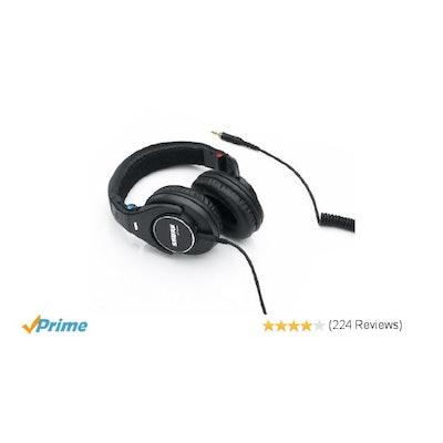 Amazon.com: Shure SRH840 Professional Monitoring Headphones (Black): Electronics