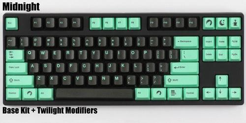 "DCS ""Midnight"" Keycap Set - Pimpmykeyboard.com"