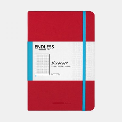 Recorder Notebook- Endless Works