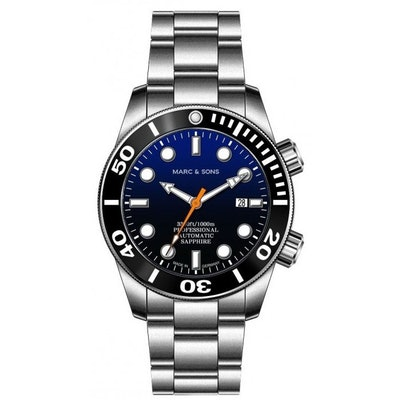 MARC & SONS Diver Watch series PROFESSIONAL MSD-028-8S Collection Diver watches