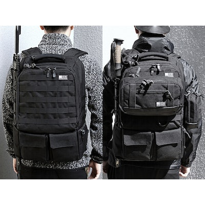 Tactical City Pack: A Bag For Your Office and Outdoor Life by Eshena