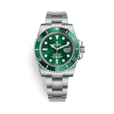 Rolex Submariner Date Watch: Oystersteel - M116610LV-0002