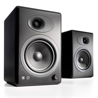 HFSW Signature Series Two Way Bookshelf Surround Sound Speakers