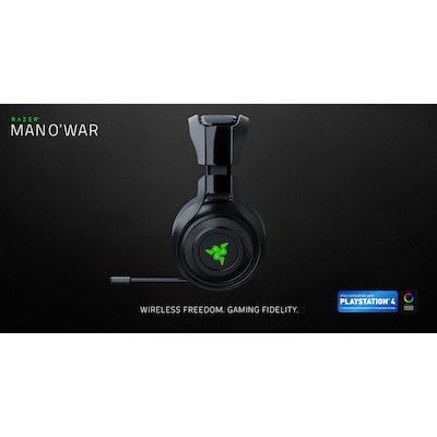 Wireless PC Gaming Headset - Razer ManO' War