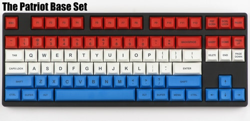 "DSA ""Patriot"" Keycap Set - Pimpmykeyboard.com"