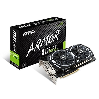 Amazon.com:  MSI GTX 1080 TI ARMOR 11G OC Video Graphic Cards