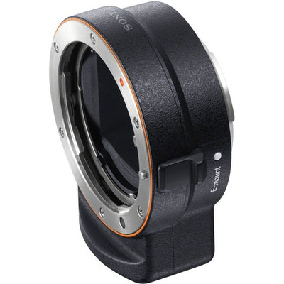 Sony A-Mount to E-Mount Lens Adapter (Black) LAEA3 B&H Photo
