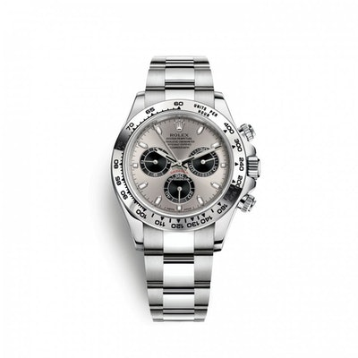 Rolex Cosmograph Daytona 40 mm 18k White Gold 116509-0072 Mens... for Price on r
