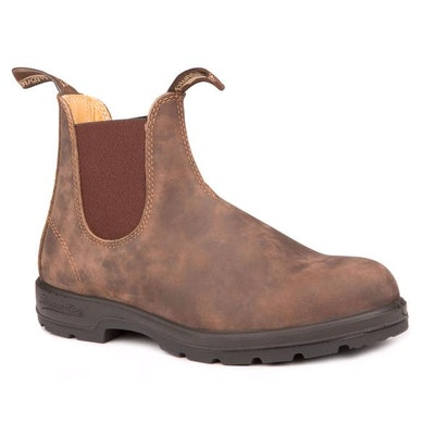 Blundstone 585 - The Leather Lined in Rustic Brown – Blundstone Canada   Blun