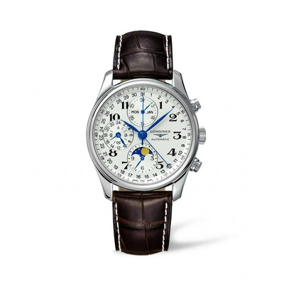 L26734783 - The Longines Master Collection 40mm Stainless Steel Chronograph with