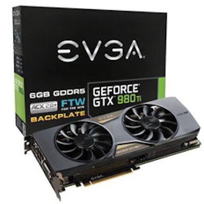 EVGA - Products - EVGA GeForce GTX 980 Ti FTW ACX 2.0+ - 06G-P4-4996-KR