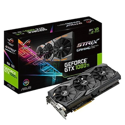 Amazon.com:  ASUS ROG STRIX GeForce GTX 1080 TI 11GB VR Ready 5K