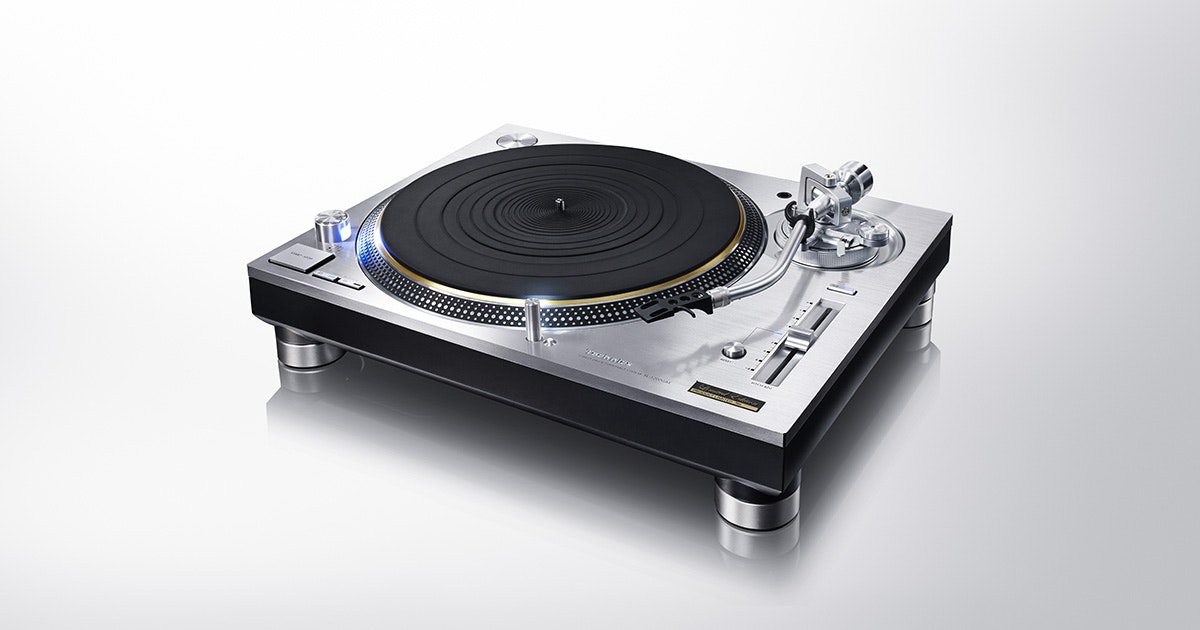 Grand Class Direct Drive Turntable System SL-1200GAE Hi-Fi Audio | Technics