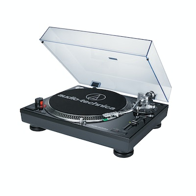 AT-LP120BK-USB Direct-drive Professional Turntable (USB & Analog) with AT95E Car