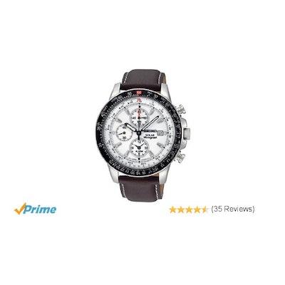 Amazon.com: Seiko Men's SSC013 White Dial Watch: Seiko: Watches