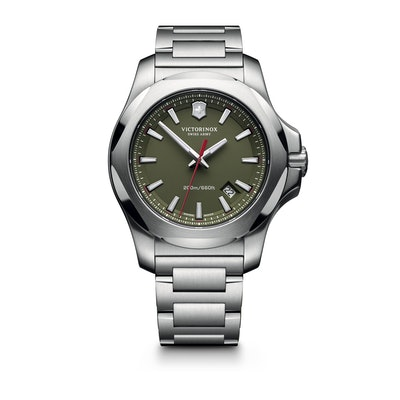 I.N.O.X. Steel - New Rugged Watch (Green) | Victorinox