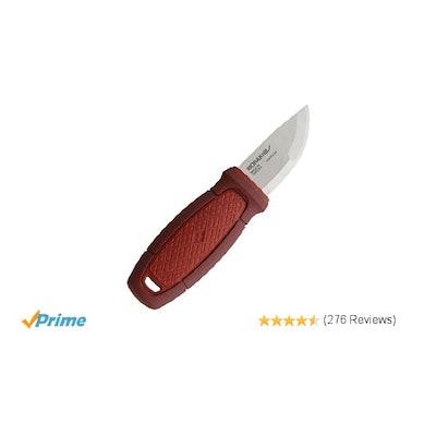 Amazon.com : Morakniv Eldris Fixed-Blade Knife with Sandvik Stainless Steel Blad