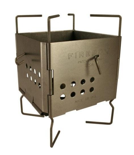 Gen2 Titanium Folding Firebox Nano 4 oz Ultralight Stove