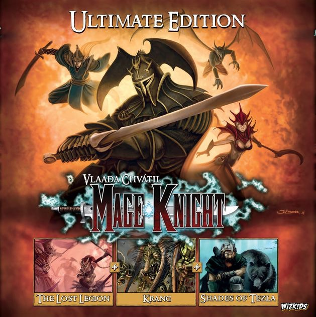 Mage Knight: Ultimate Edition | Board Game