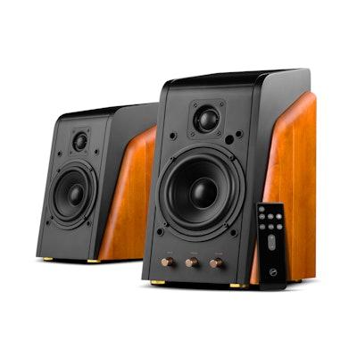 M200MKIII+ Bluetooth Bookshelf Speakers - Swan Speakers