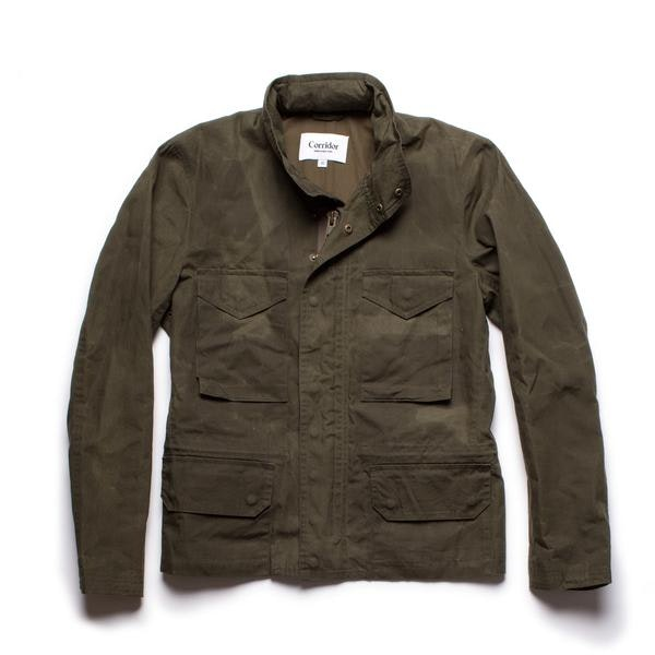 Waxed Cotton M65 - Olive – Corridor